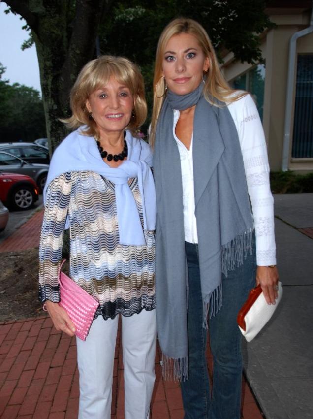 Gina Giordan with Barbara Walters