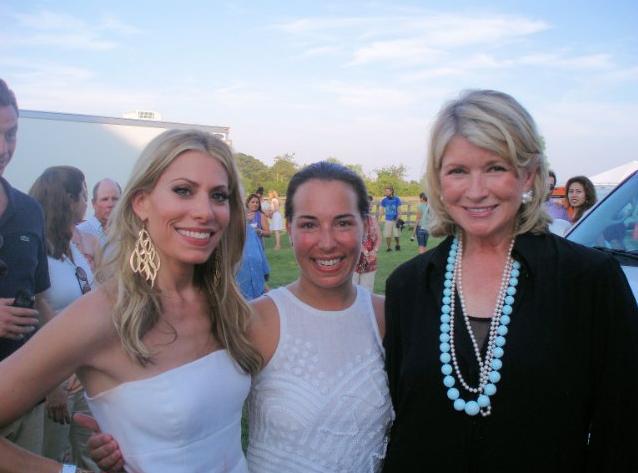 Gina Giordan with Martha Stewart