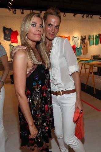 Gina Giordan and Molly Sims