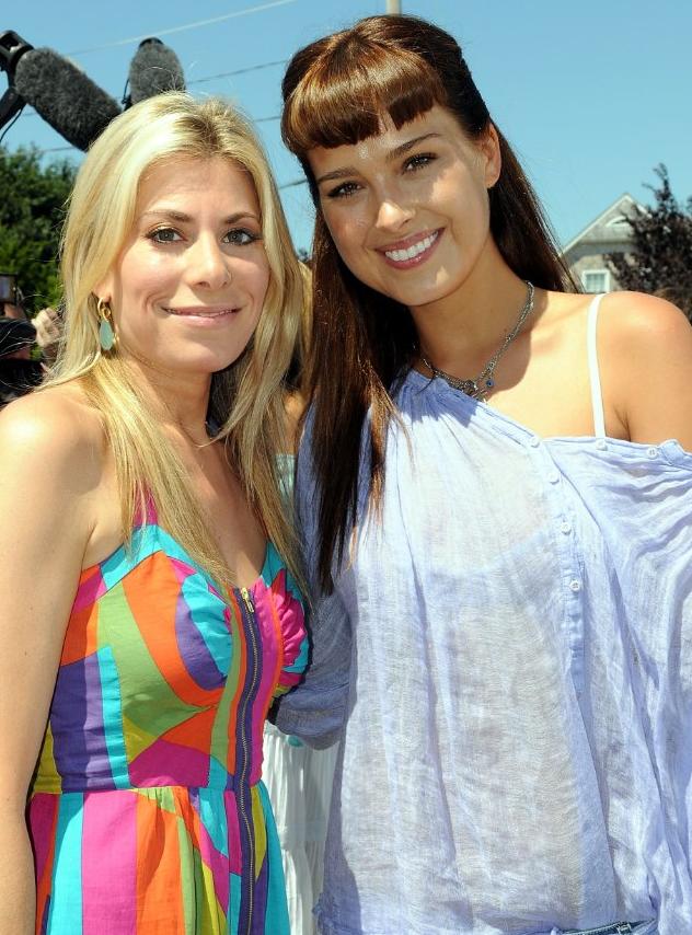 Gina Giordan with Petra Nemcova